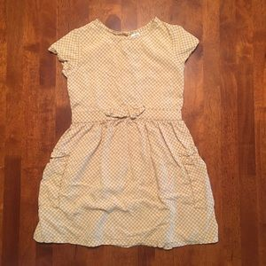 Carter's Yellow and White Flower Dress W/ Pockets